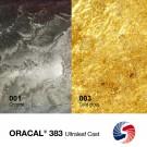 Пленка ОРАКАЛ 383-01 1.22х50м серебро глянц 0.085 мм